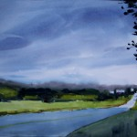 """Down the Road $300 20""""x27""""   2014"""